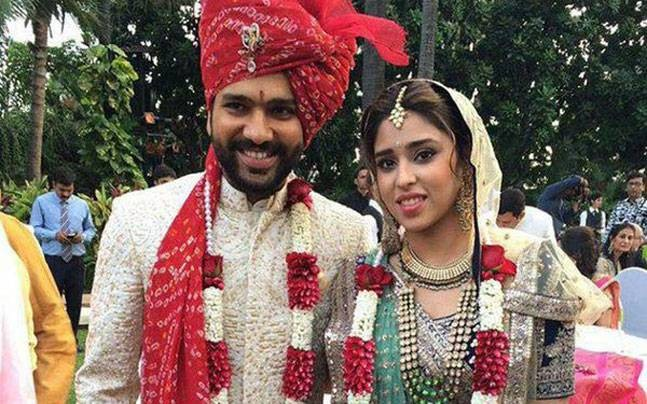 Dinesh Karthik,Harbhajan Singh,Rohit Sharma,Suresh Raina,Indian cricketers who got married in 2015,cricketers married in 2015,Indian cricketers married in 2015