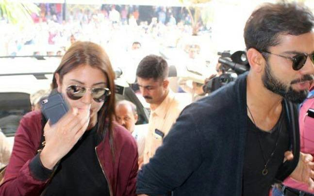 Virat Kohli,Virat Kohli birthday,Virat Kohli birthday celebrations,Virat Kohli celebrates his 28th birthday,Virat Kohli celebrates birthday with Anushka Sharma,Anushka Sharma,Virat Kohli birthday celebrations pics,Virat Kohli birthday celebrations images