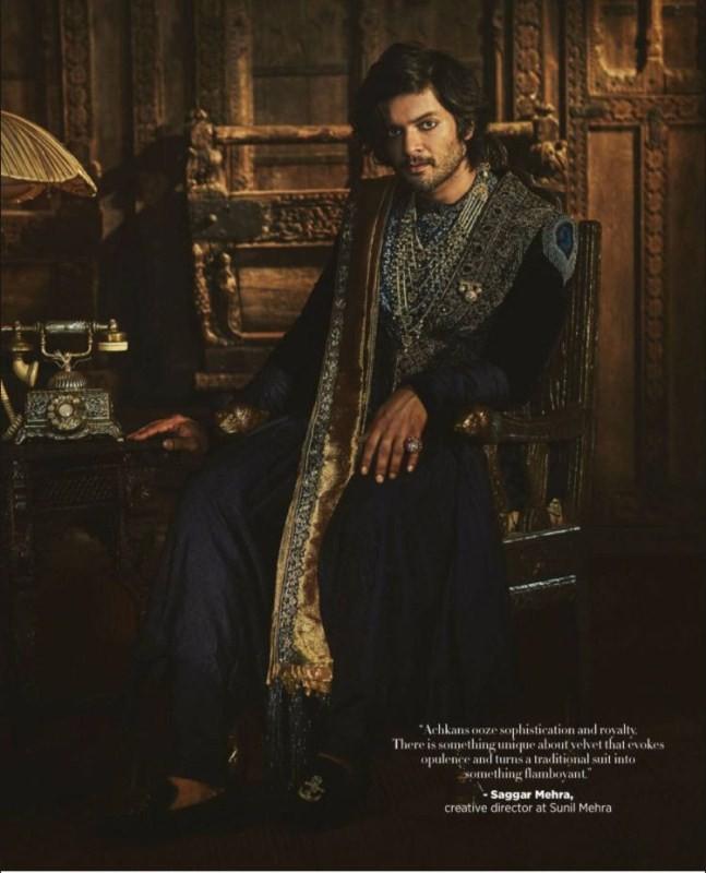 Ali Fazal,actor Ali Fazal,Ali Fazal  on Harpers Bazaar Men,Harpers Bazaar Men,Victoria and Abdul