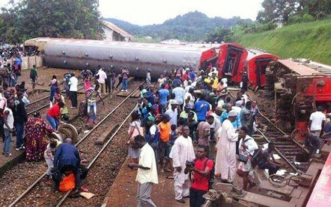 Cameroon train derailment