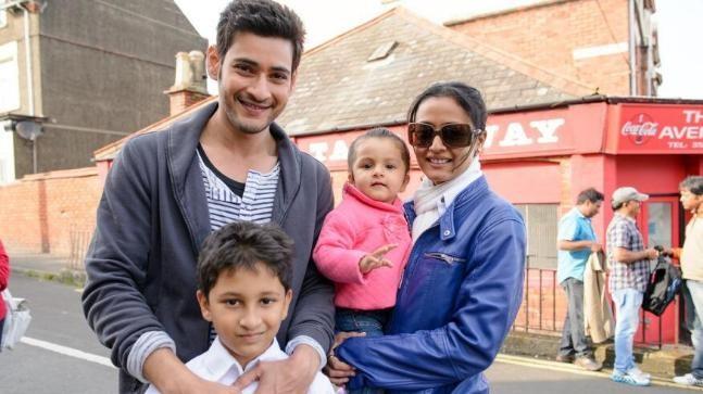 Mahesh Babu's family