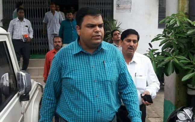 District Magistrate of Bihar's Buxar city, Mukesh Pandey