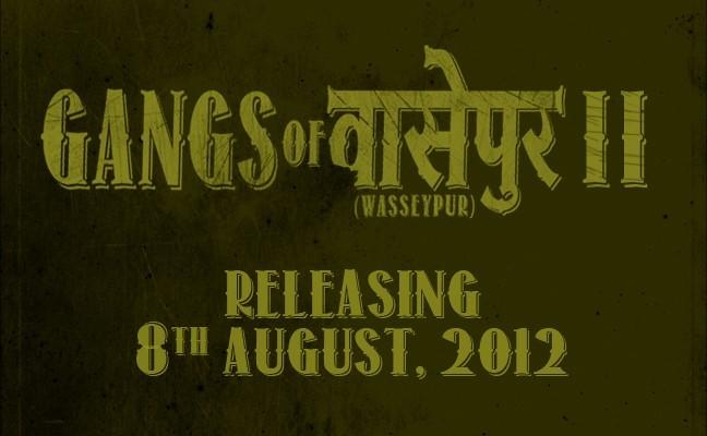 """""""Gangs of Wasseypur 2"""" movie poster"""
