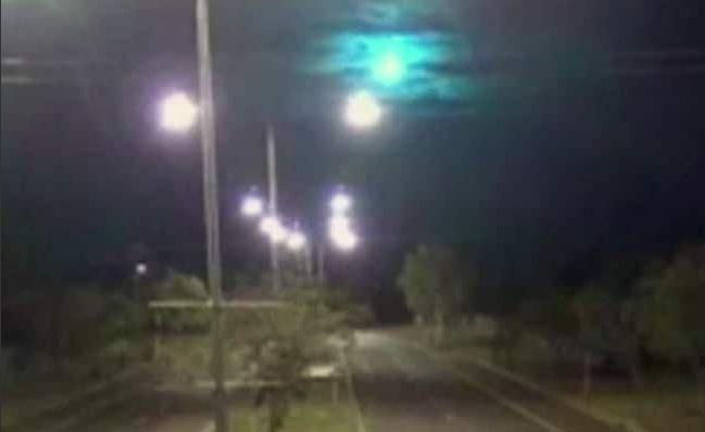 australia meteor shower