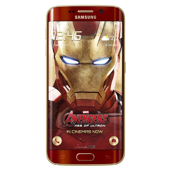 Samsung Galaxy S6 Edge Iron Man smartphone,Samsung Galaxy S6 Edge,Galaxy S6 Edge,Galaxy S6 Edge mobile,Iron Man Galaxy S6 Edge,Samsung,Samsung mobiles,samsung smartphones,smartphones,Galaxy S6,Iron Man smartphone