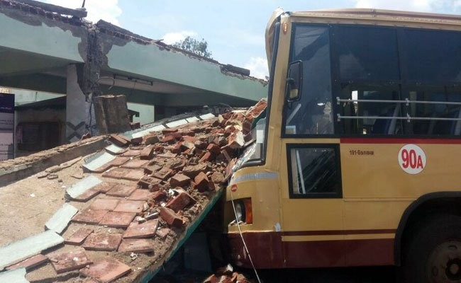 Roof collapses in Coimbatore,roof collapses,bus stand roof collapses,bus stand