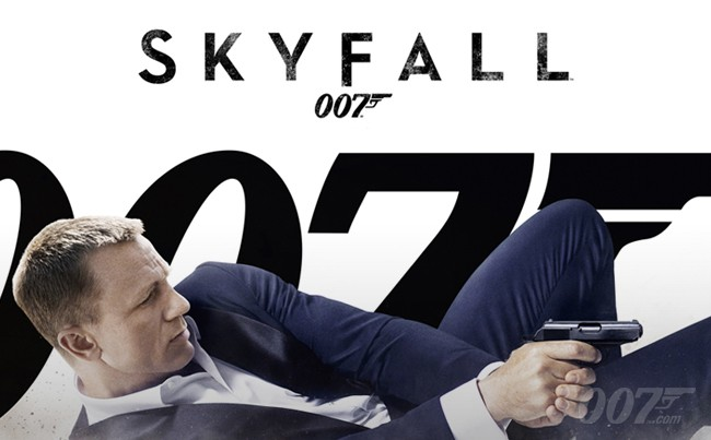 Skyfall is one of the several movies set for the Netflix axe