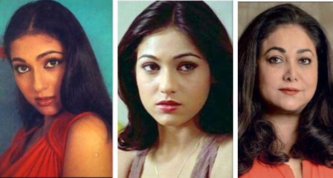Tina Munim then and now