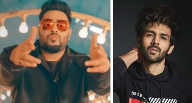 Badshah and Kartik Aaryan