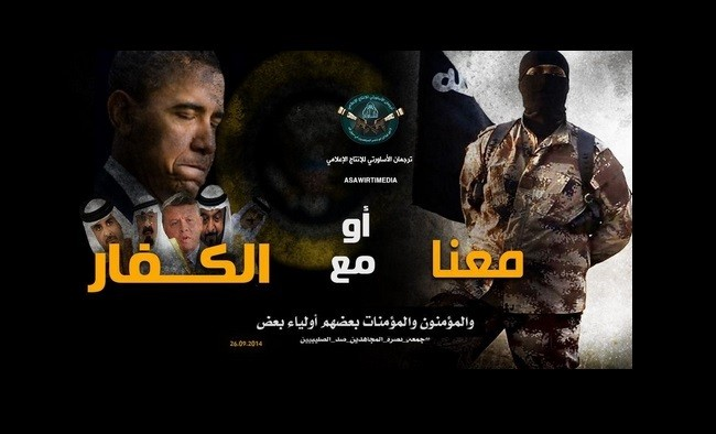 An ISIS propaganda letter mocks Obama and the Arab allies.