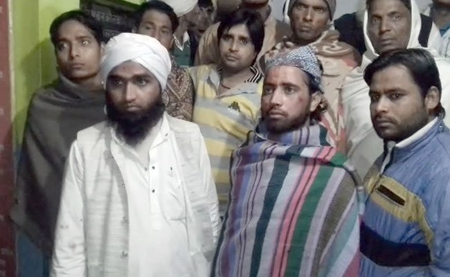 Muslim clerics beaten-Baghpat