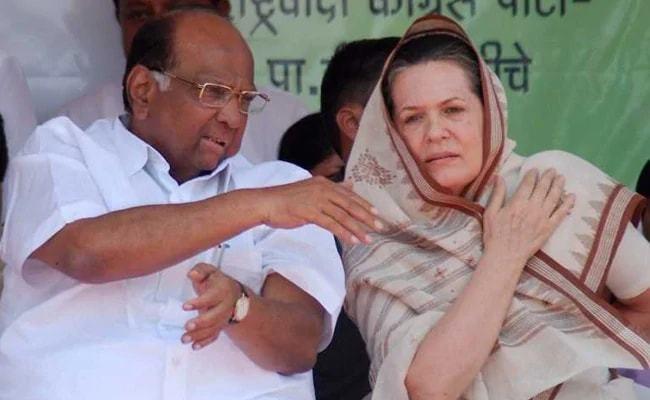 Sonia Gandhi Sharad Pawar Meet