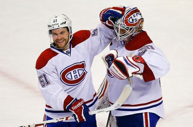 Montreal Canadiens is their NHL jersey/Reuters File
