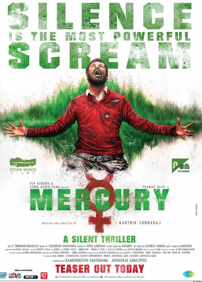Prabhu Deva,Prabhu Deva new movie,Mercury first look poster,Mercury first look,Mercury poster,Mercury movie,Mercury teaser