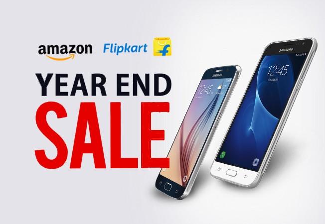 Best smartphone deals on Flipkart and Amazon