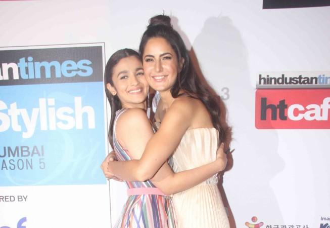 Alia Bhatt and Katrina Kaif at the HT Most Stylish Awards 2016