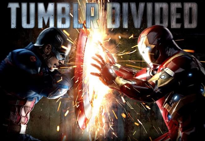 Captain America v Iron Man