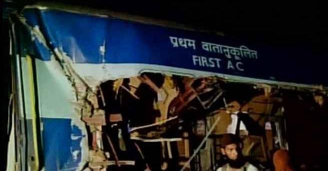 Bangalore-Nanded Express,Bangalore nanded express,train accident,Bangalore train accident