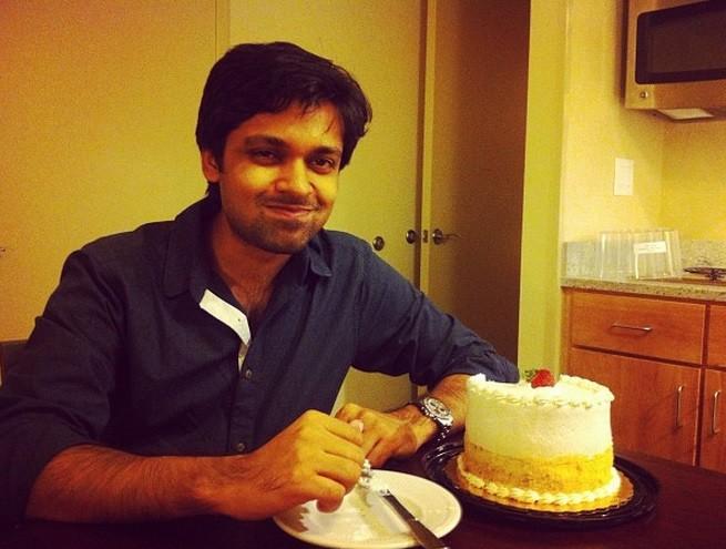 Shiladitya on his birthday