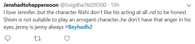 Beyhadh 2 twitter reaction