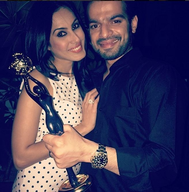 Karan Patel and Kamya Punjabi