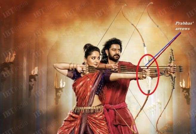 Funny Mistakes in Bahubali 2,Bahubali 2 Funny Mistakes,Bahubali 2 Mistakes,Bahubali Mistakes,SS Rajamouli,Prabhas,Anushka Shetty,Funny Mistakes in movies