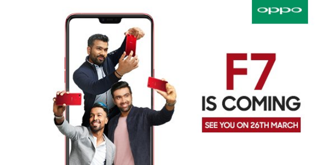 Oppo F7, launch, India, teaser