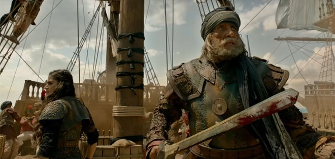 Thugs of Hindostan review,Thugs of Hindostan movie review,Aamir Khan,Amitabh Bachchan,Katrina Kaif,Fatima Sana Shaikh,Thugs of Hindostan pics,Thugs of Hindostan images,Thugs of Hindostan stills,Thugs of Hindostan pictures,Thugs of Hindostan photos
