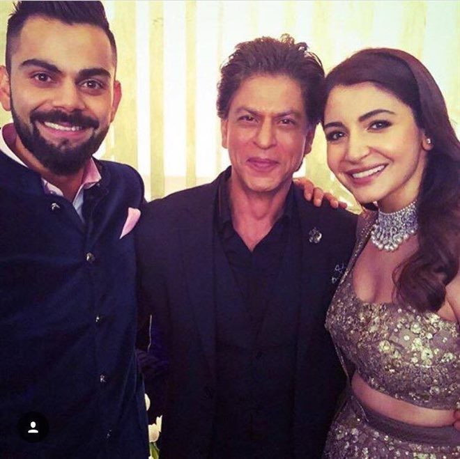 Priyanka Chopra,Shah Rukh Khan,Ranbir Kapoor,Virat Kohli and Anushka Sharma reception,Virat Kohli reception,Anushka Sharma reception,Virat Kohli and Anushka Sharma mumbai reception,Virat Kohli,Anushka Sharma
