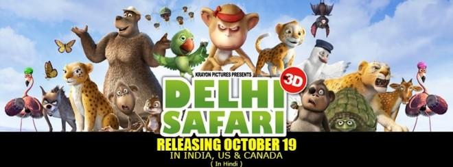 'Delhi Safari' poster