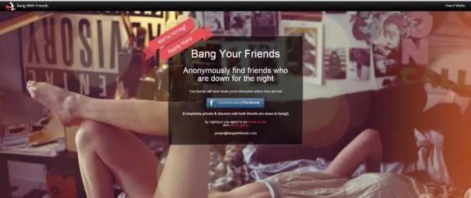 'Bang With Friends'
