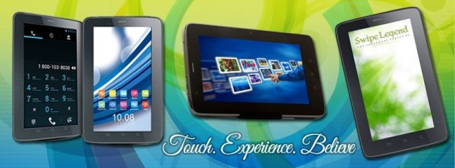 Swipe's Android Fablet F2, Fablet F3 Launched in India