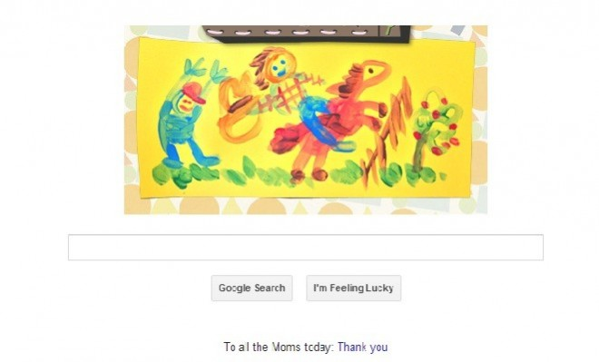 Google's Mother's Day Doodle