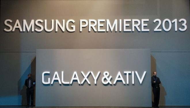 SAMSUNG PREMIERE 2013 GALAXY & ATIV' in London