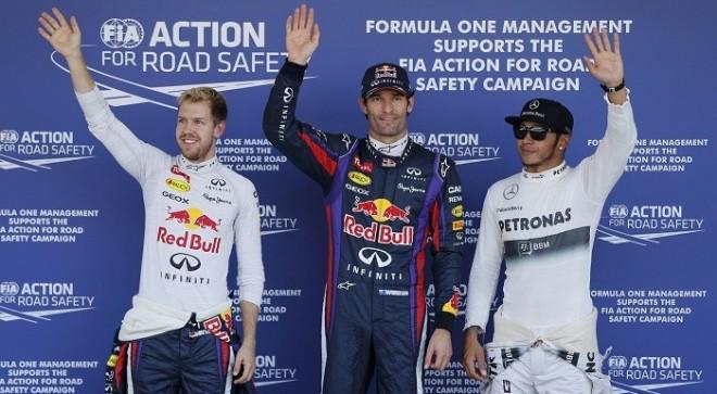 Vettel Webber Hamilton