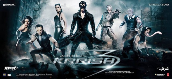 Krissh 3 poster (Facebook Official page Krrish 3)