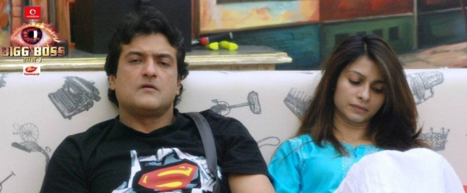 Bigg Boss 7 contestants Armaan and Tanisha