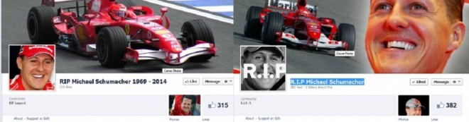 Michael Schumacher Dead: RIP Fan Pages Add Fuel To The Hoax