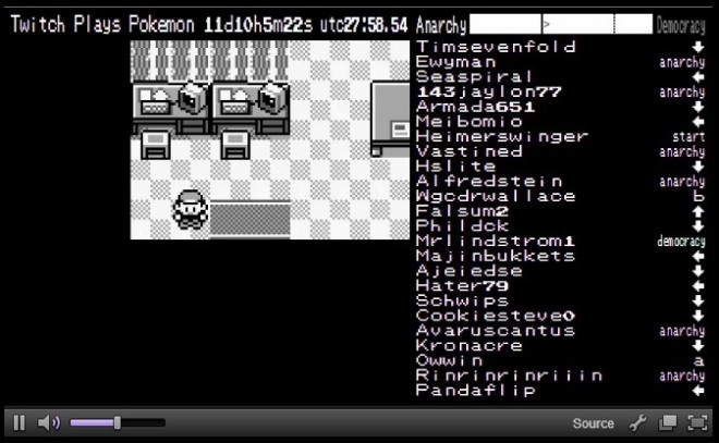 Twitch Plays Pokemon has become an online sensation in live stream gaming