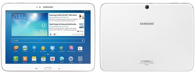 Samsung Galaxy Tab 3 10.1 Listed on Company's E-Store; Price, Availability Details