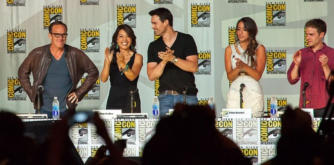 Agents of Shield panel at  2013 San Diego Comic-Con International.