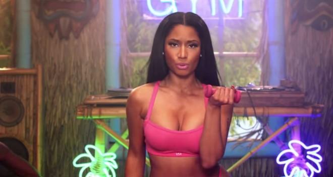 Nicki Minaj in Anaconda Music Video