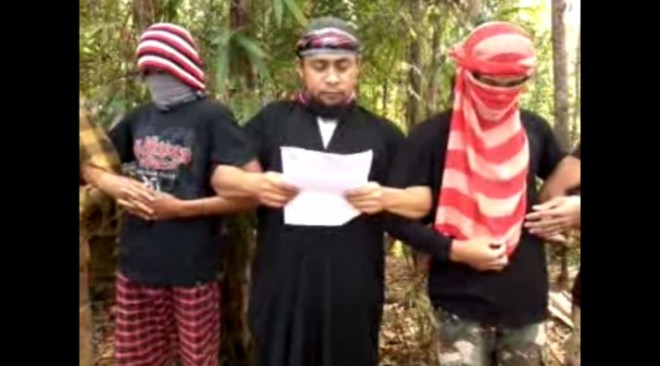 The Malaysian city of Sabah is in red alert after a video of Filipino terrorist group Abu Sayyaf pledging allegiance to Islamic State, went viral.
