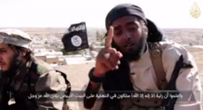 In its latest propaganda video, ISIS has featured jihadi fighters from US,France and Germany.