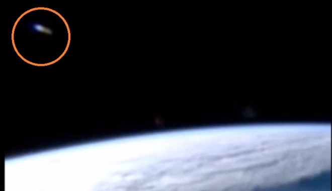 UFO Spotted Close to NASA's ISS