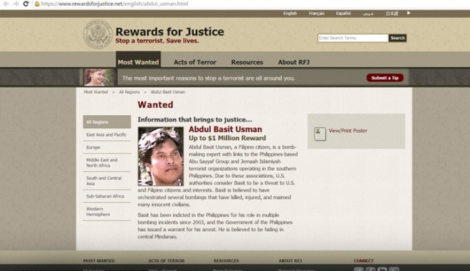 Abdul Basit Usman, an Al Qaeda operative was gunned by his bodyguards who wanted to turn him for the $1 million bounty on his head.