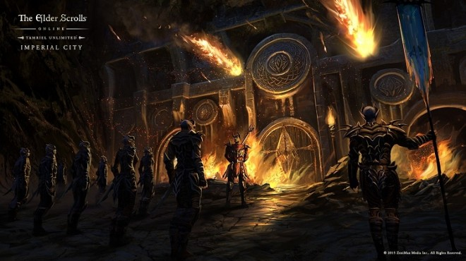 The Elder Scrolls Online: Tamriel Unlimited's Imperial City DLC