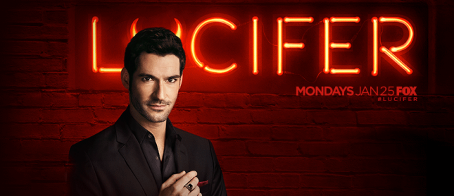 Lucifer premiere on Monday, 25 January