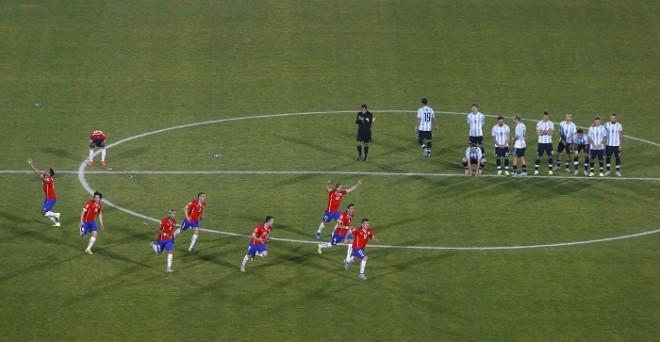 Chile Argentina Copa America 2015 final