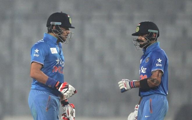 Yuvraj Singh Virat Kohli India Asia Cup 2016